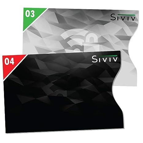 3a77f0b90dad5f Set da 10 Custodie Blocco RFID - Protezione Carte di Credito e di Debito -  Protezione