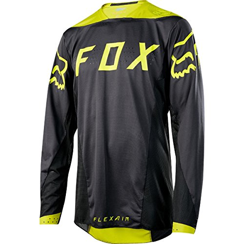 Flexair Jerseys (Fox Racing Flexair DH Jersey - Men's Black/Yellow, M)