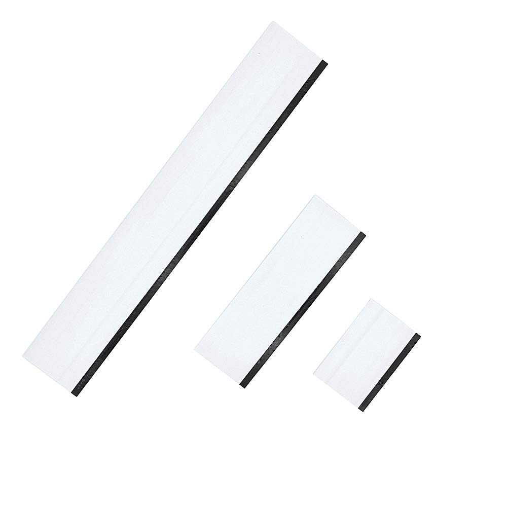 GUGUGI 3 in 1 Rubber Squeegee Car Vinyl Wrap Squeegee Window Cleaner Wiper Ideal for Countertops, Door, Shower Mirror and Car Window Cleaning