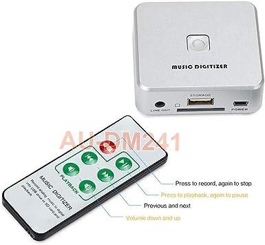Amazon.com: Analógico a Digital MP3 reproductor de audio ...