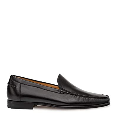 Mezlan Napoles - Mens Venetian Style Moccasin - Supple Nappa Leather - European Calfskin Loafer - Handcrafted in Spain - Medium Width | Loafers & Slip-Ons