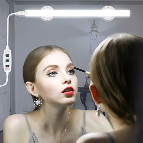 LED Vanity Mirror Light, Jayol Dimmable Makeup Light with 1.8m USB Cable, Super Bright LED Mirror Light, 360 Degree Rotation Vanity Light Kits, Cosmetic Lamp for Bathroom Dressing Room Vanity Table by Jayol (Image #1)