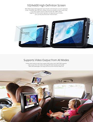 2019 Car Head Unit, Eonon Android 8 1 Double Din Car Stereo Radio 7