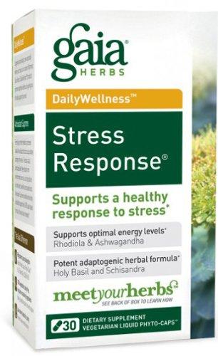 GAIA HERBS Stress Response Liquid Caps, 30 CT