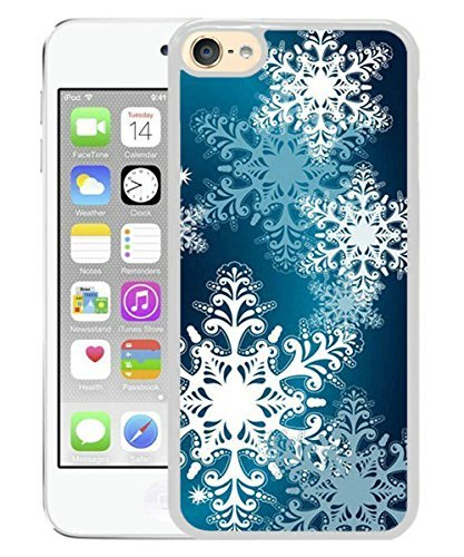 Christmas Snowflake 3 White for iPod touch 6 Case