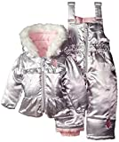 U.S. Polo Assn. Baby Snow Suit (More Styles Available), Silver A,  12M