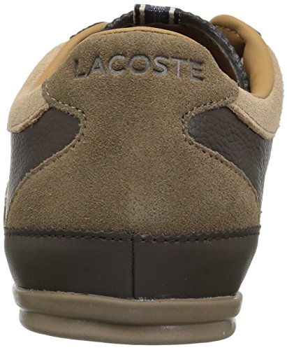 Lacoste Heren Misano Sneakers Brw / Ltbrw Leather