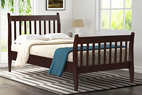 Merax Mattress Foundation with Wood Slat Suppo Platform Bed Frame