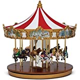 Mr. Christmas World's Fair Animated Musical Classic Carousel Ride Decoration #79213