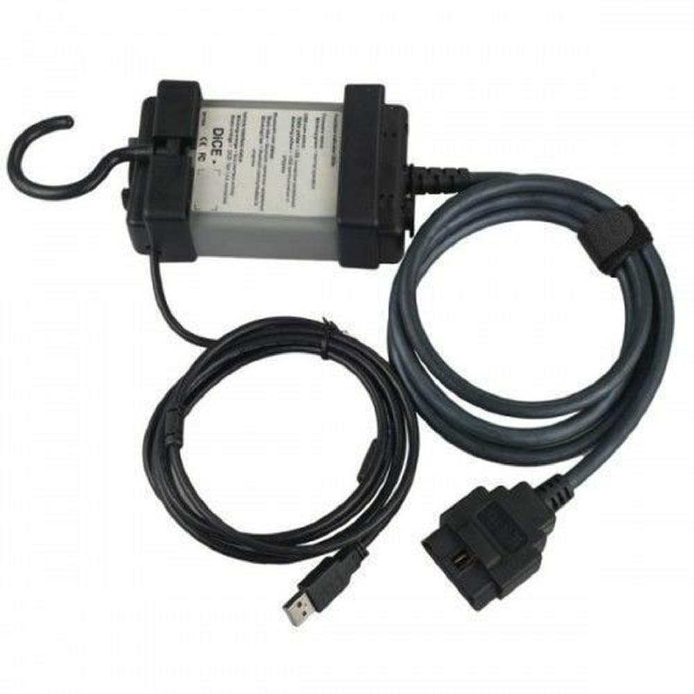 Grebest DICE Device Diagnostic Instrument Scanner 2014D Vida Dice OBD2 Fault Code Reader Car Auto Diagnostic Scan Tool for Volvo