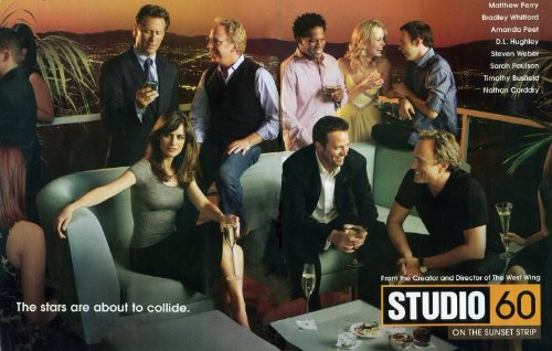 Pop Culture Graphics Studio 60 on The Sunset Strip Poster TV 11x17 Matthew Perry Amanda PEET Bradley Whitford