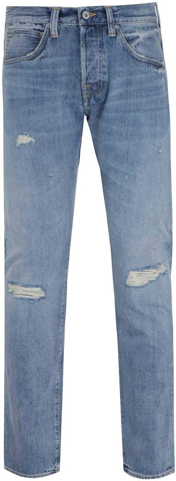 Edwin ED 20 20 Rainbow Selvage Jeans Manami Repair wash  Amazon ...