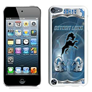 Detroit Lions (1) White Best Sale Fantastic iPod Touch 5 Cover Case
