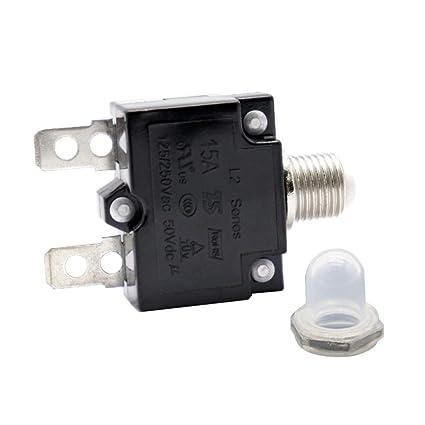 30A Schutzschalter Überlastschutz Schalter Sicherung AC 125 250V