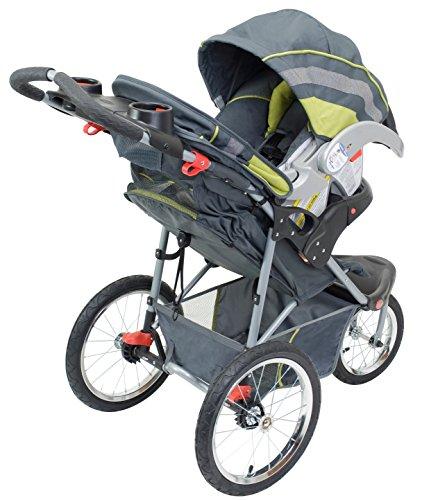 Umbrella Jogging Stroller Jogger Baby Toddler 2 Cup Holder 3 Wheel