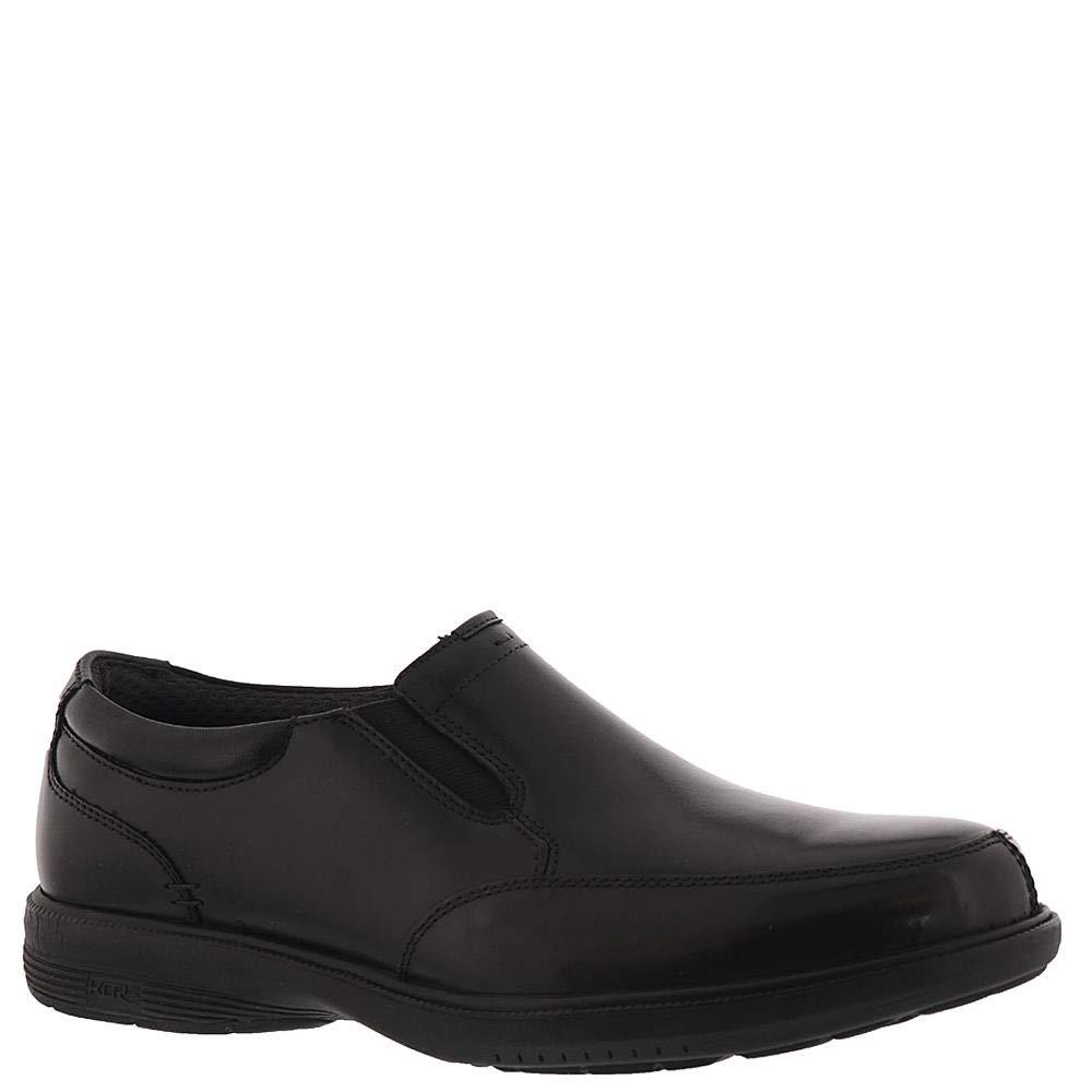Nunn Bush Men's Melvin Street Cap Toe Oxford with KORE Slip Resistant Walking Comfort Technology negro 10.5 W US -