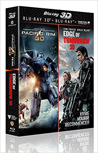 Coffret edge of tomorrow ; pacific rim Blu-ray