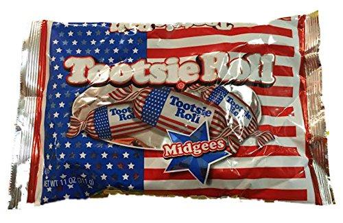 Rolls Tootsie Flag (Patriotic Tootsie Rolls)