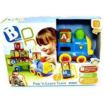 Baby Products Bkids Pop N Learn Train