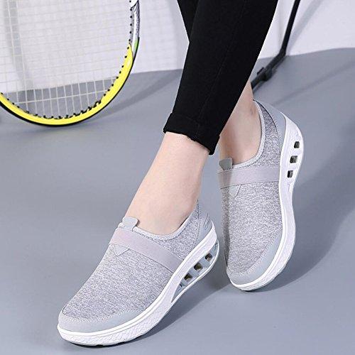 Panno Athletic Scarpe B Da Platform Loafers Xue Autunno Donna Slip Flat Guida guida Shake Mocassini Shoes Primavera Fitness Shaking Sneakers E xtwUAqd