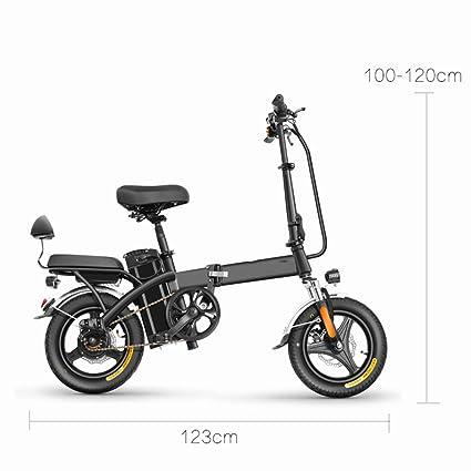 Amazon.com: FYJK Scooters eléctrico para adultos, plegable ...