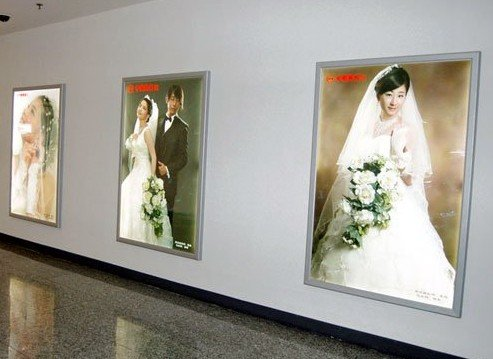 Gowe led wedding picture light box A2 size 5 Pcs by Gowegroup LED Light Box