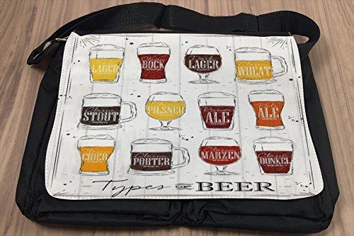 Borsa Tracolla Birra Bar Pub Tipi di birra Stampato