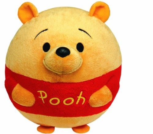 Pooh Plush Beanie (Ty Beanie Ballz Winnie The Pooh Plush, Bear)