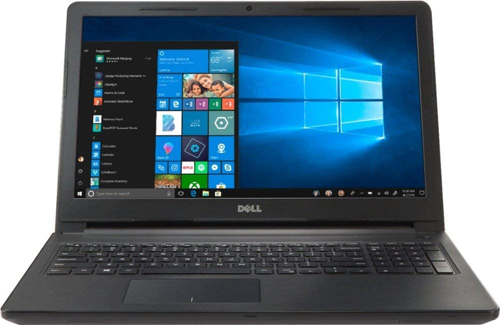 "Dell Inspiron 15 I3567-5949BLK-PUS Laptop (Windows 10, Intel i5-7200U, 15.6"" LED Screen, Storage: 256 GB, RAM: 8 GB) Black"