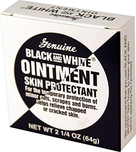 Black & White Ointment 2.25 oz. (Pack of 2) (White Ointment)