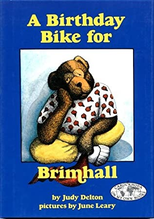book cover of A Birthday Bike for Brimhall
