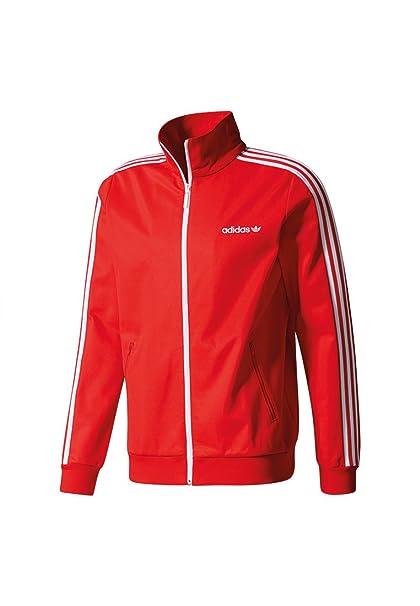 adidas BB Sudadera, Hombre, Rojo (Rojint), M