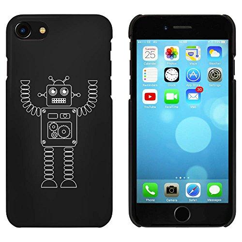 Schwarz 'Roboter mit Arm Angehoben' Hülle für iPhone 7 (MC00058495)