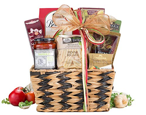(Spectacular Wine Country Gift Baskets Taste of Italy Gourmet Extravagant Christmas Gift Basket. Perfect For Holiday Gift Baskets, Family Gift Baskets, Corporate Gift Baskets and Birthday Gift Basket)