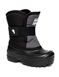 Stonz Scout Cold Weather Snow Boots Super Insulated, Rugged, Lightweight, and Warm (5T-9T)