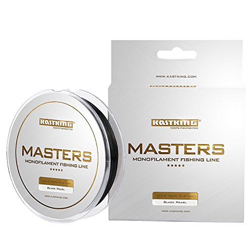KastKing Masters Monofilament Fishing Line Tournament Grade Mono Line 300Yds/274M Premium Fishing Line