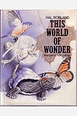 This world of wonder, Hardcover