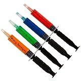 Jello Shot Syringes - Partay Shenanigans Shot Glasses - 40 Pack Black Injectors