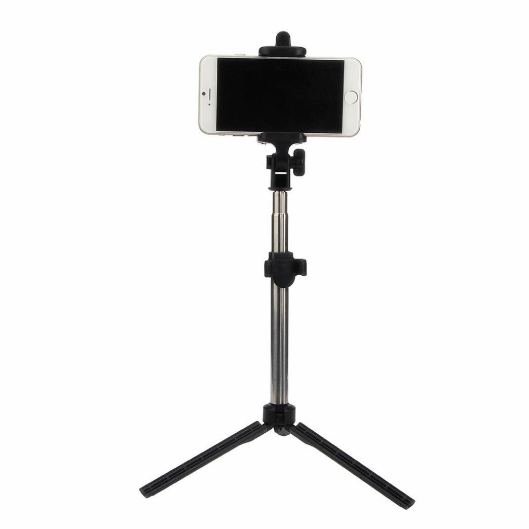 Selfie Stick, Fuleadture Portable Extendable Monopod with Bluetooth Remote and Tripod Stand for iPhone 7, Samsung Galaxy S7 Edge and Other Smartphones