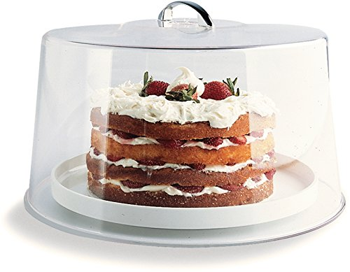 Carlisle 251207 Shatterproof 12'' Cake Cover / Dome, 6'' High (Pack of 6) by Carlisle (Image #6)