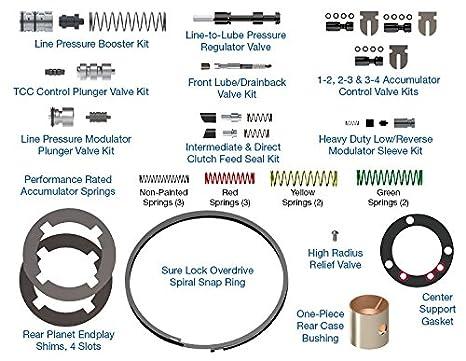 Ford 4R100 transmisión sonnax Kit de reparación de seguro de curar desplazamiento hp-4r100 - 01 Heavy Duty: Amazon.es: Coche y moto