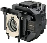 Portable, Replacement projector lamp ELPLP67 / V13H010L67 WITH HOUSING for Epson EB S12 / EB W12 / EX3210 / EX5210 / EX7210 / Powerlite 1221 / Powerlite 1261W / Powerlite S11 / Powrelite X12 / V11H433020 / VS210 / VS310 / VS315W Projectors Consumer Electr