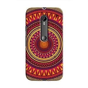 Cover It Up - Orange Ceiling Moto G3Hard Case