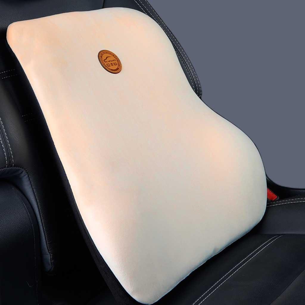 Lumbar Support Pillow Memory Lumbar Pillow Lumbar Lower Back Pain Support Cojín Ortopédico Lumbar Support For Car Home Office Chair (Color : A)