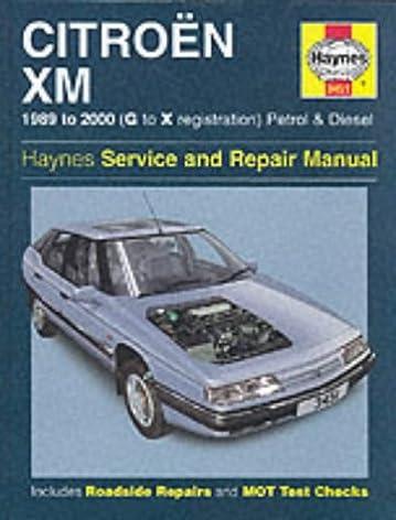 citroen xm petrol diesel 89 00 haynes repair manual haynes rh amazon co uk Citroen Cm Citroen GT Gran Turismo