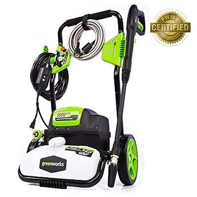 Greenworks 1500 PSI Pressure Washer