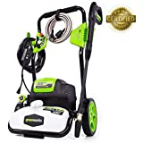 GW Greenworks 1800-PSI 1.1-Gallon-GPM Cold Water Electric Pressure Washer