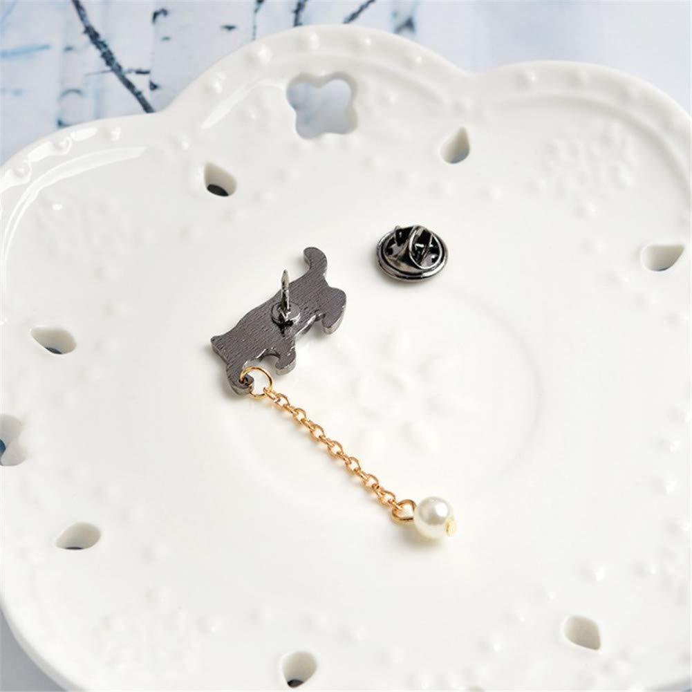 KANKOO Chaton Broches pour Femme V/êtements Accessoires Cadeaux danniversaire Bijoux Costume pour Foulards Chemise Cadeaux De Mode Originalit/é Grand Pin