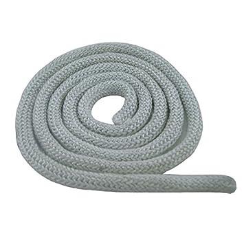 KS24 Cordón de estanqueidad blanco para estufas, diferentes diámetros: Amazon.es: Bricolaje y herramientas