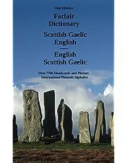 Faclair Dictionary Scottish Gaelic - English / English - Scottish Gaelic